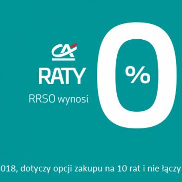 Raty 0% w Małgośce !