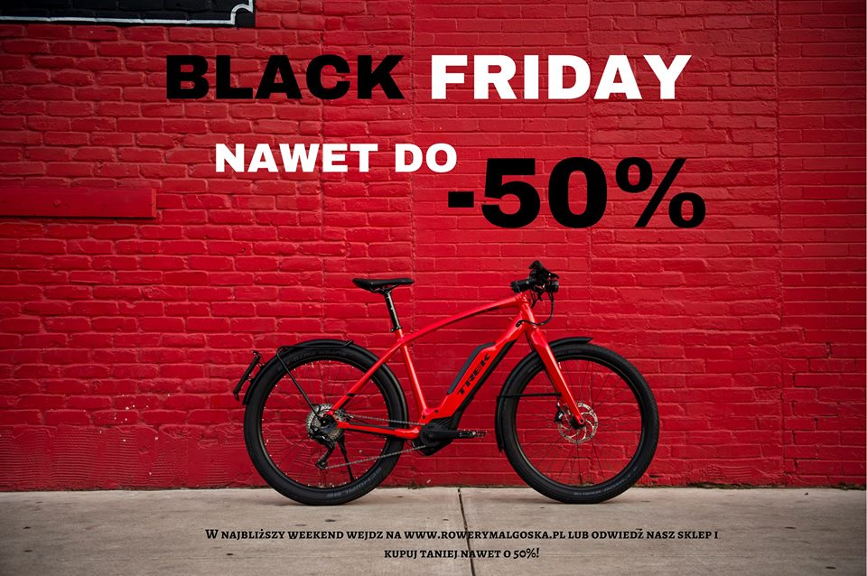 Black Friday – wyprzedaż nawet do -50%!