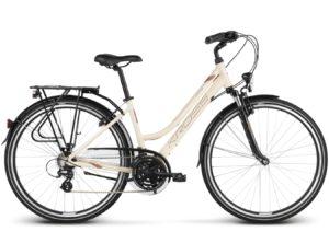 Rower Kross Trans 2.0 kremowy