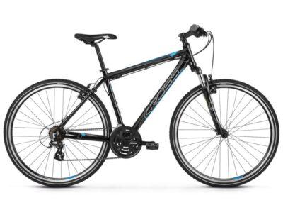 Rower Kross Evado 2.0 czarno niebieski