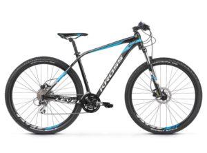 Rower Kross Level 2.0 czarno-niebieski