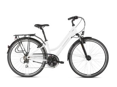 Rower Kross Trans 3.0 damski biały