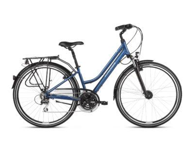 Rower Kross Trans 3.0 damski niebieski