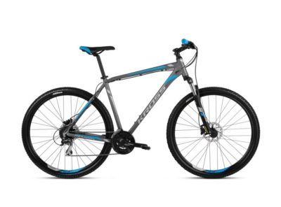 Rower Hexagon 5.0 grafitowo-niebieski